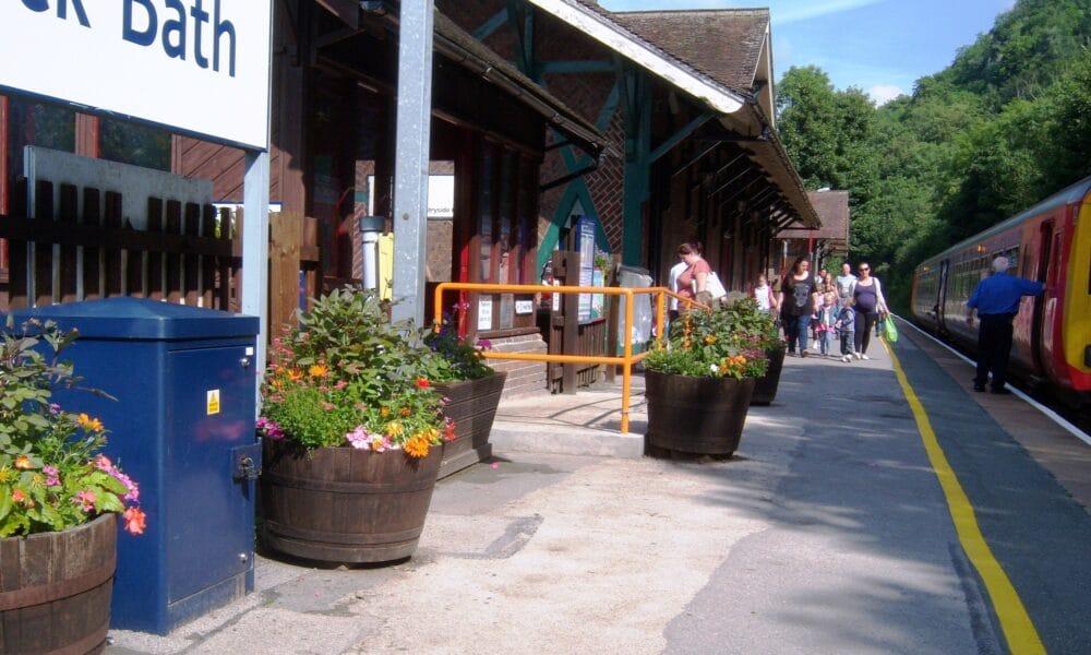 Matlock Bath platform