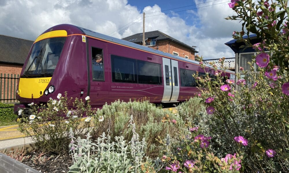 170 train and Duffield Flowers