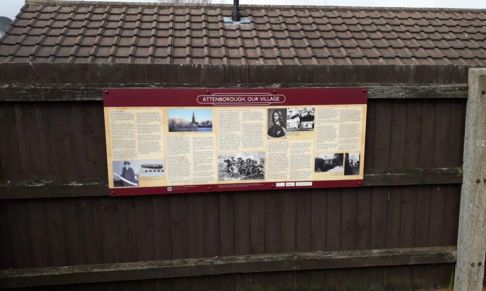 Attenborough village panel
