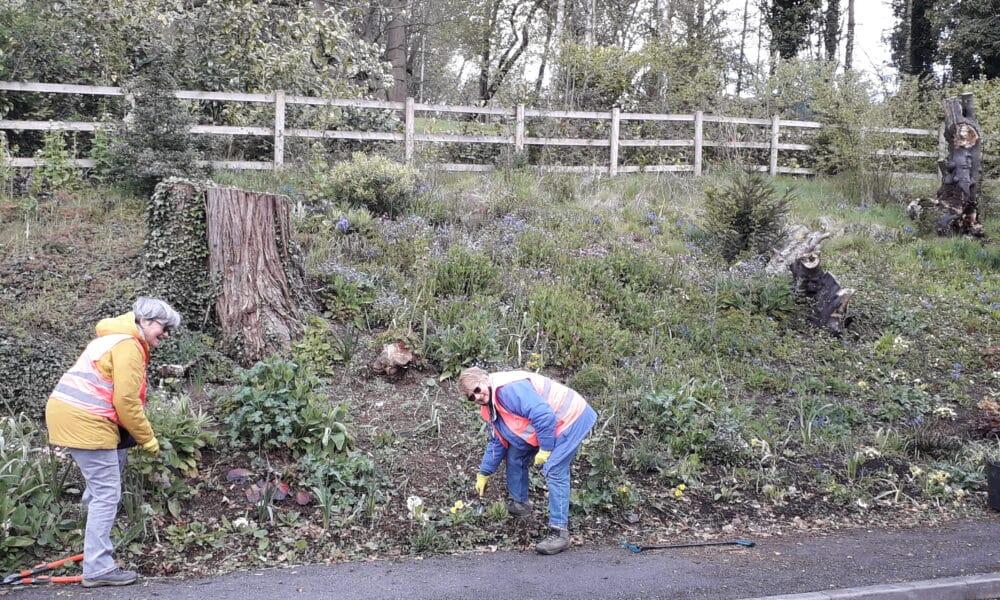 Cromford Volunteers working
