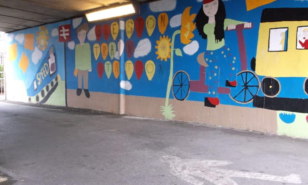Beeston subway artwork