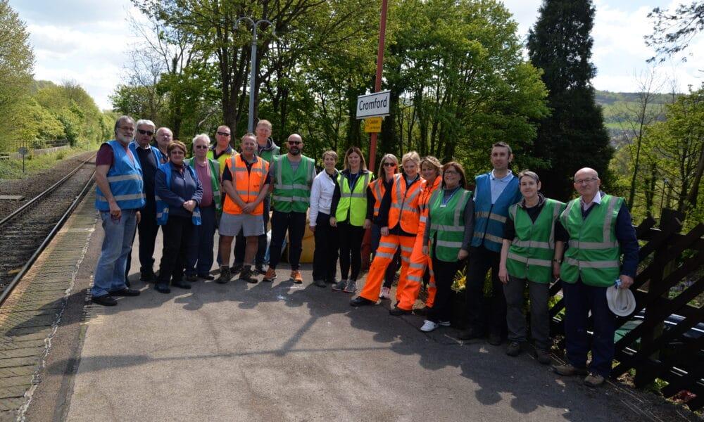 Cromford Community Day Group Photo