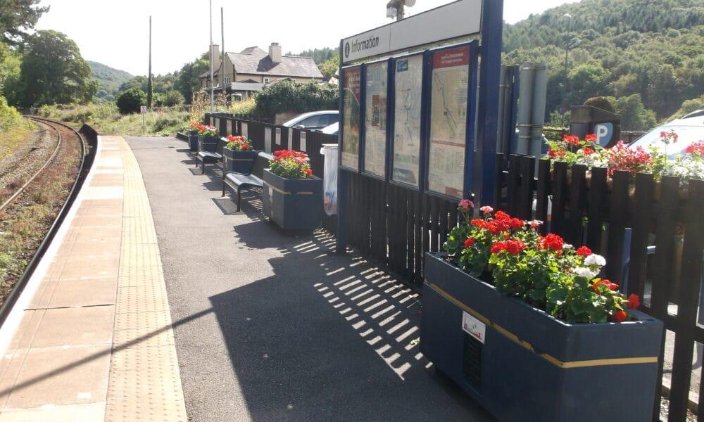 Whatstandwell Platform Planters