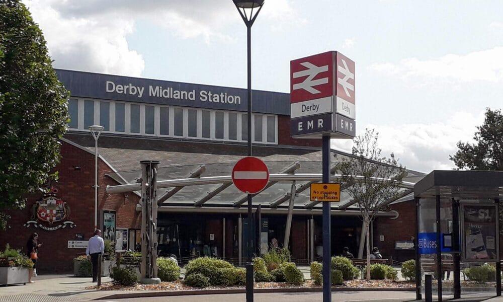 Derby station front