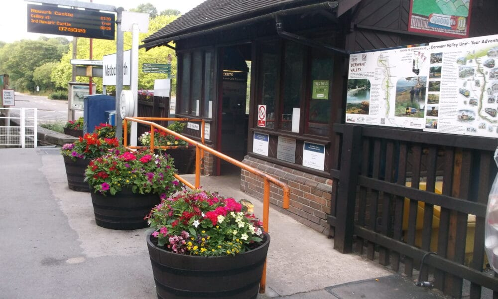 Matlock Bath planters