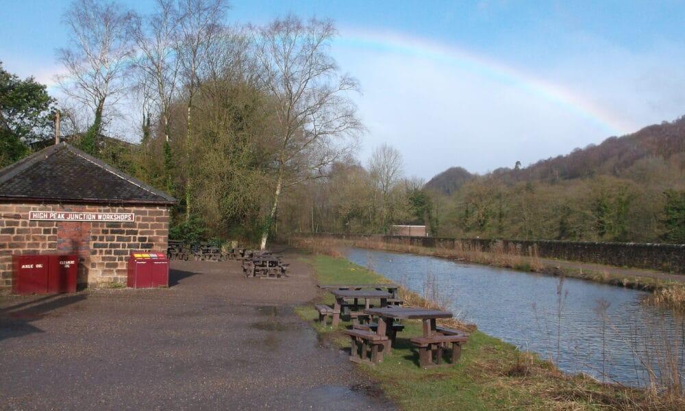 Rainbow over High peak Junction