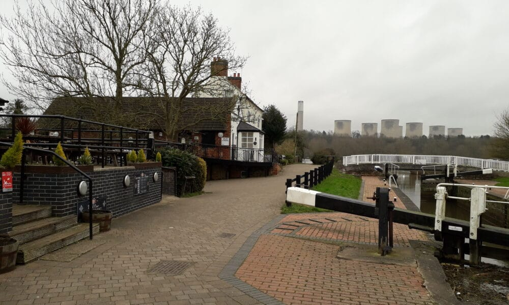 Canal at Trent Lock