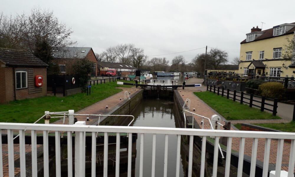Trent Lock canal