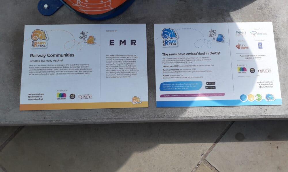 ram info plaque