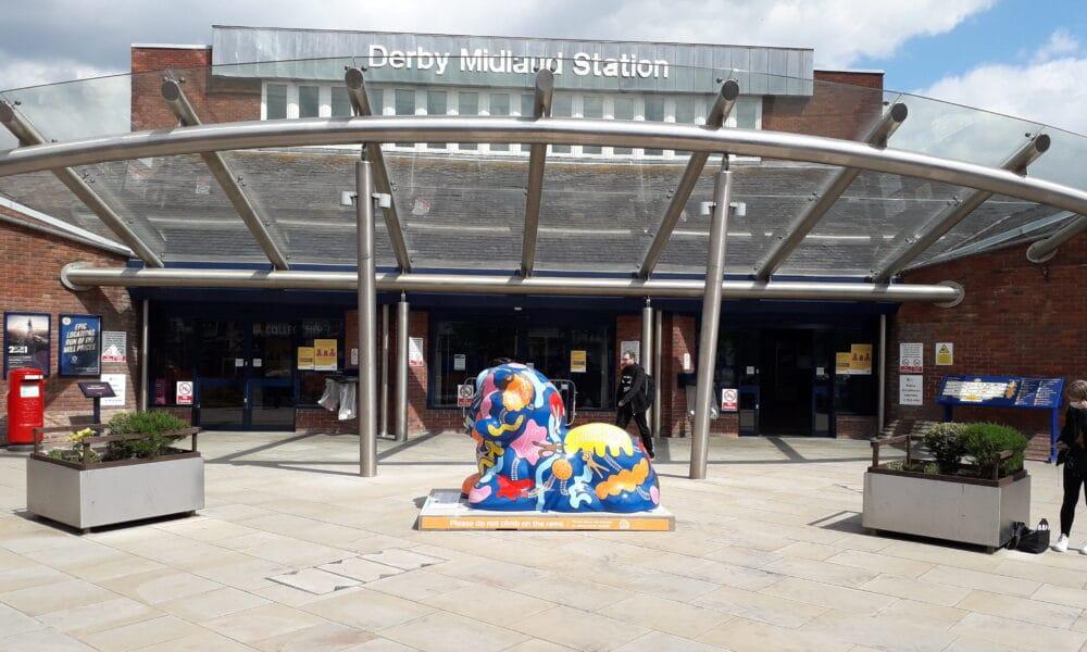 Ram at Derby Station