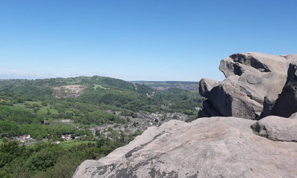 View from Black Rocks