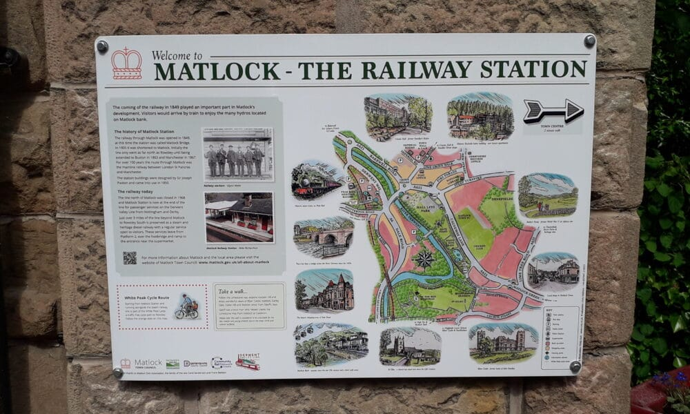 Matlock Station Panel
