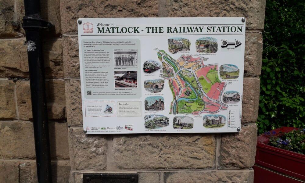 Railway Station Panel