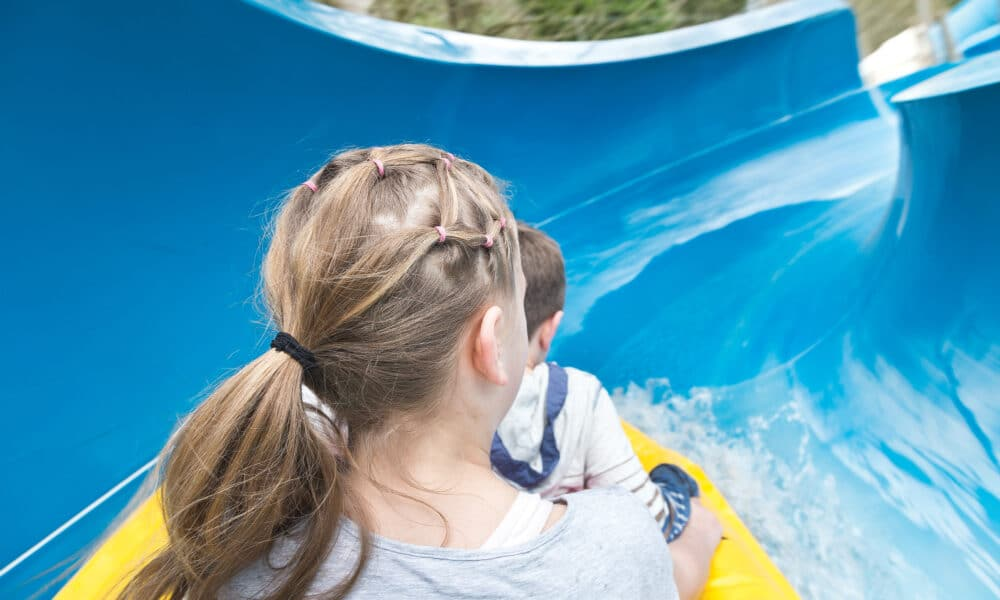 Gullivers waterslide