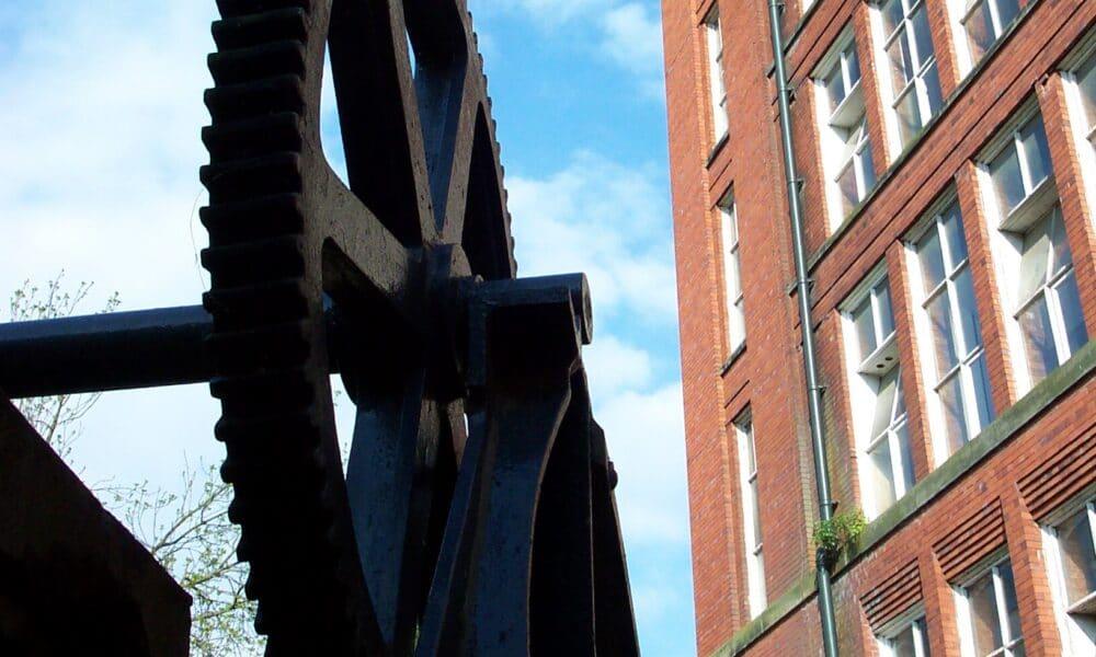 Belper Mill wheel