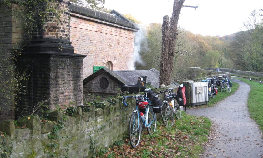 pumphouse and bikes