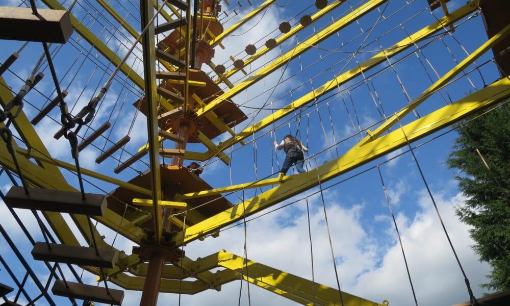 Gullivers climbing frame