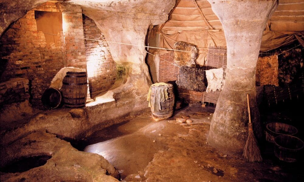 Inside city of Caves
