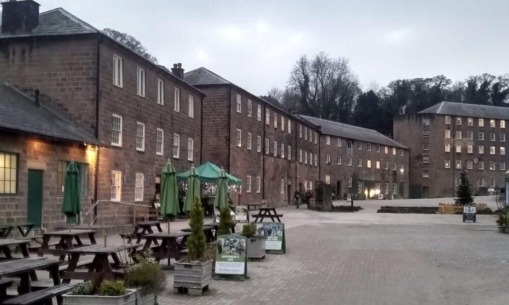 Cromford Mill Courtyard