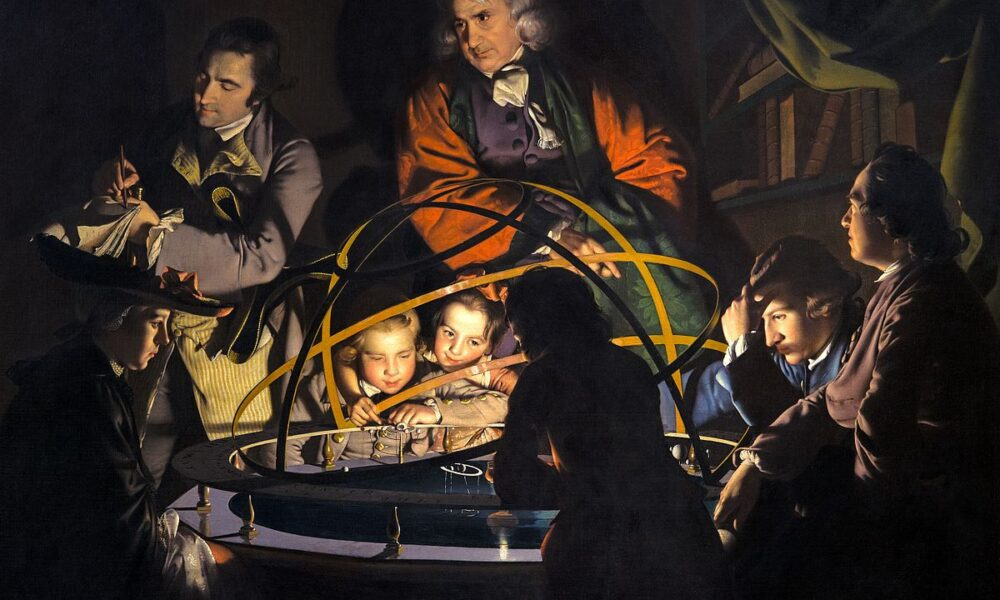The Orrery by Joseph Wright