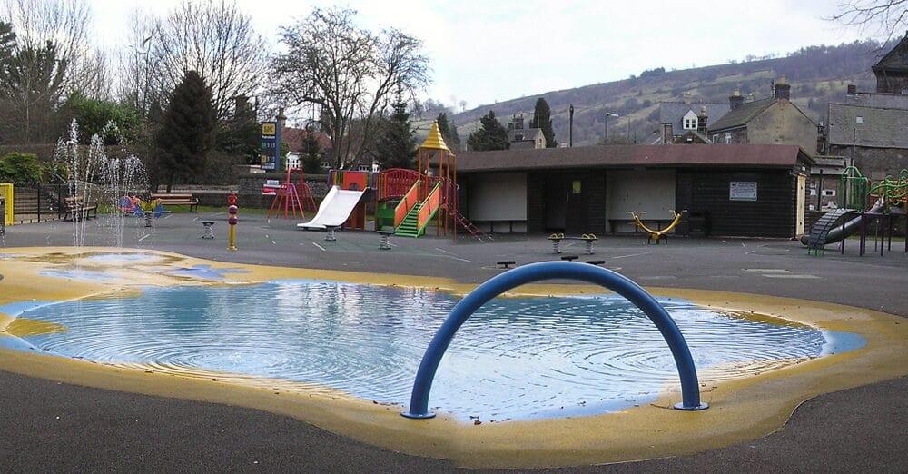 Hall Leys play area