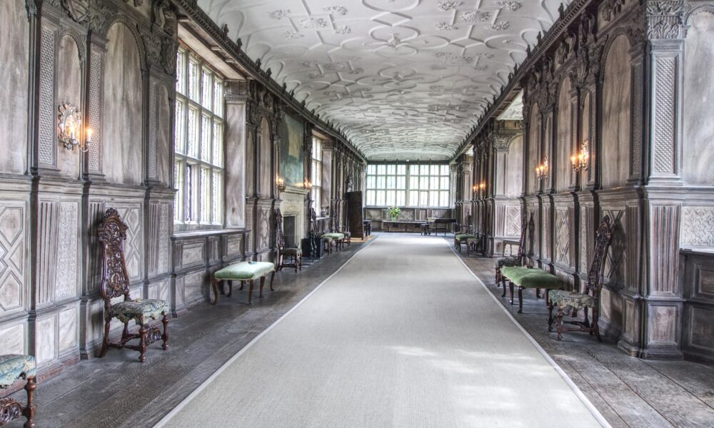 Long gallery Haddon Hall