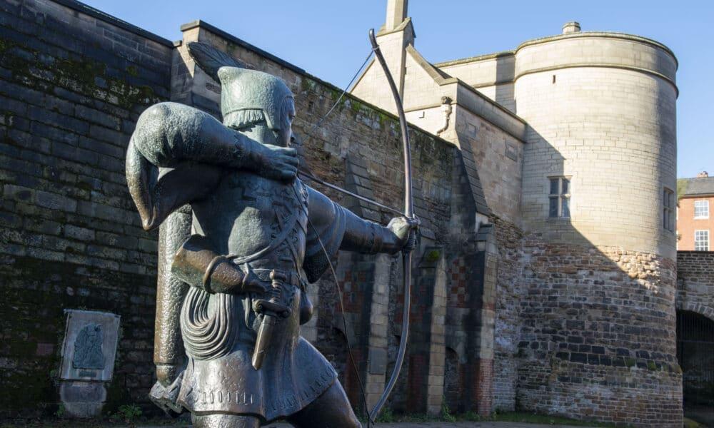 Robin Hood and Castle
