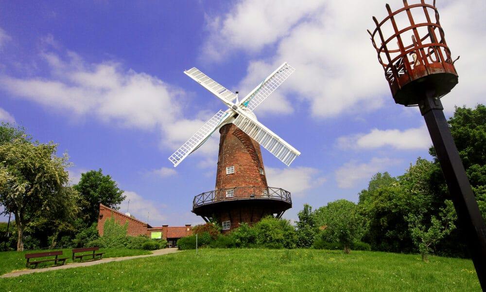 Greens Windmill landscape