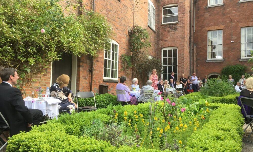 Pickford's House garden