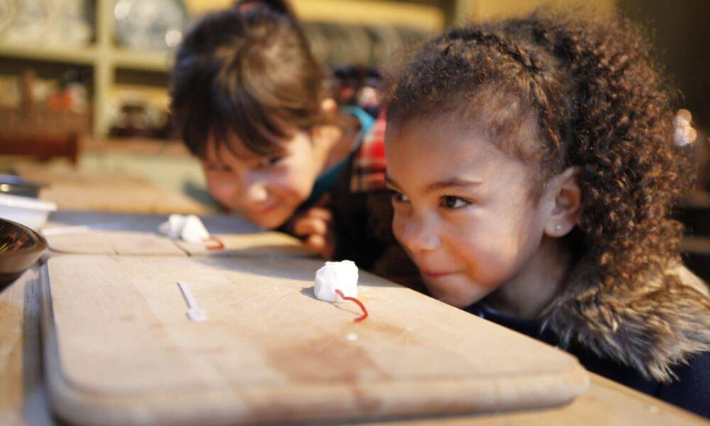Children at Pickford's House