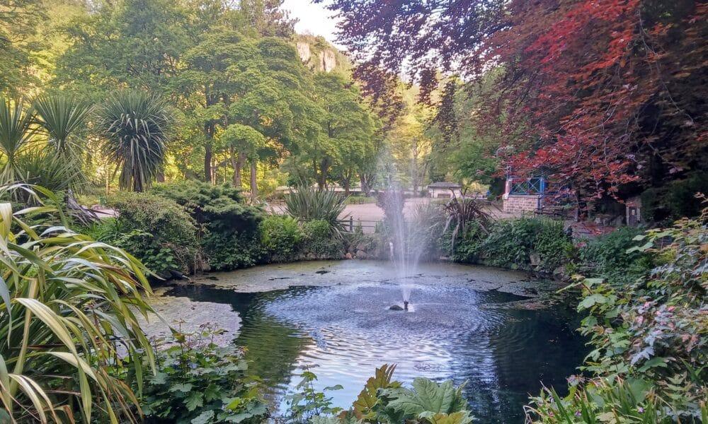 Fountain in Derwent Gardens